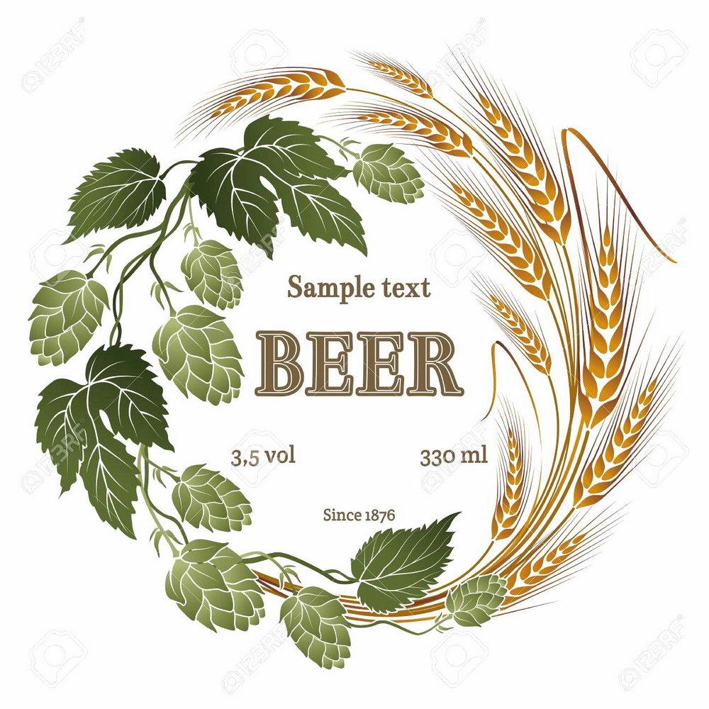 Beer Label Template Illustrator