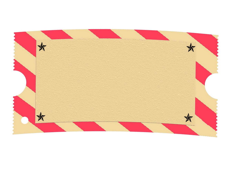 Blank Carnival Ticket Template