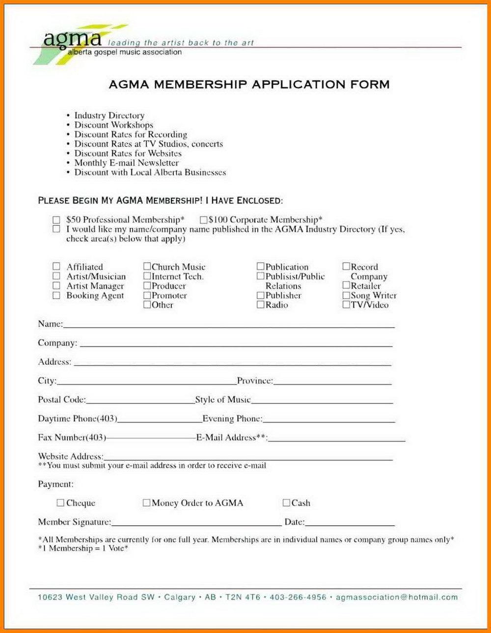Church Membership Directory Template
