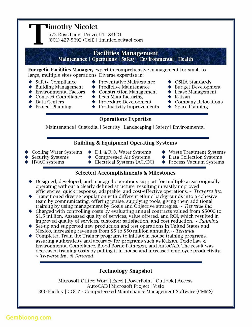 Copy Paste Cv Template - Templates #57610 | Resume Examples