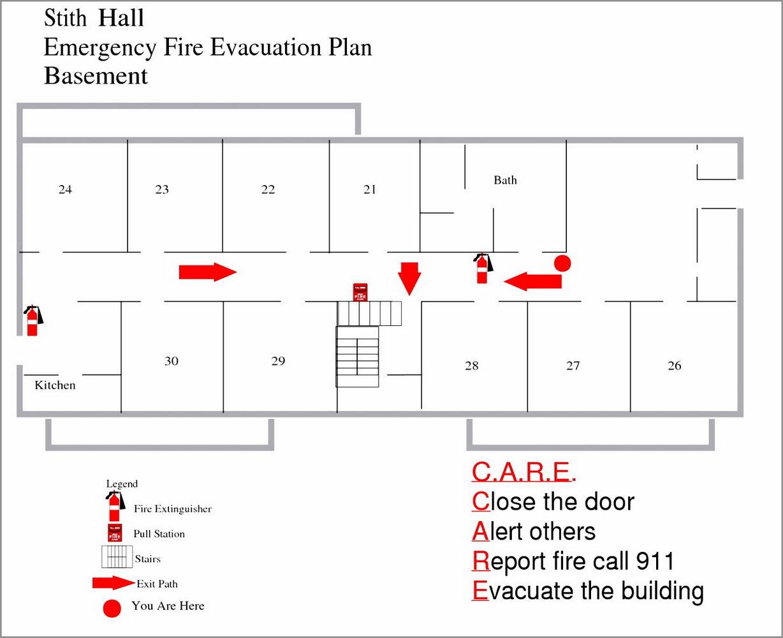 Evacuation Plan Template Nz