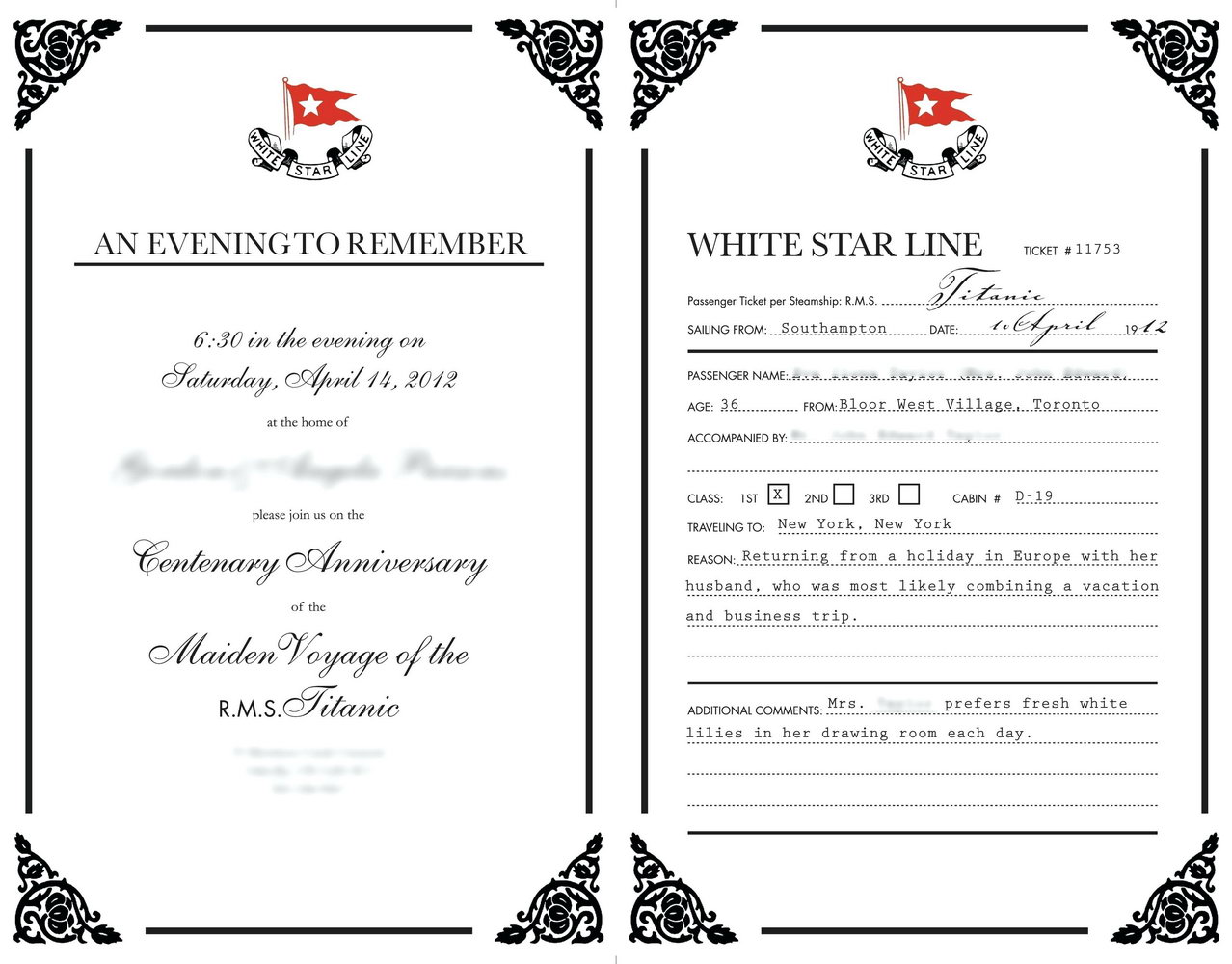 Formal Invitation Template Free