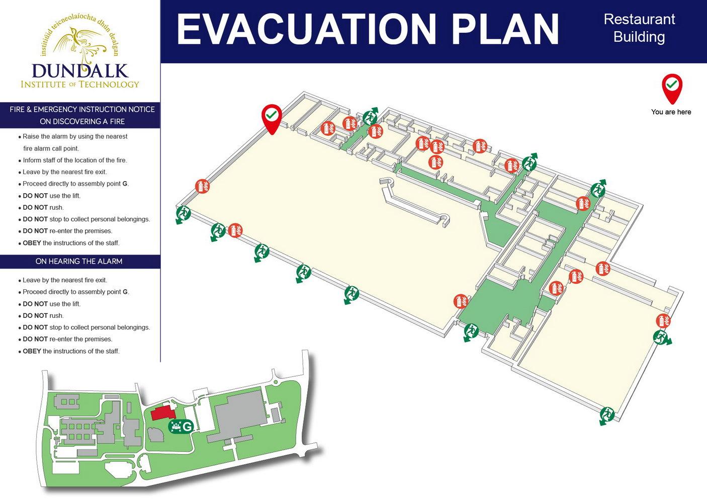 Free Fire Evacuation Plan Template