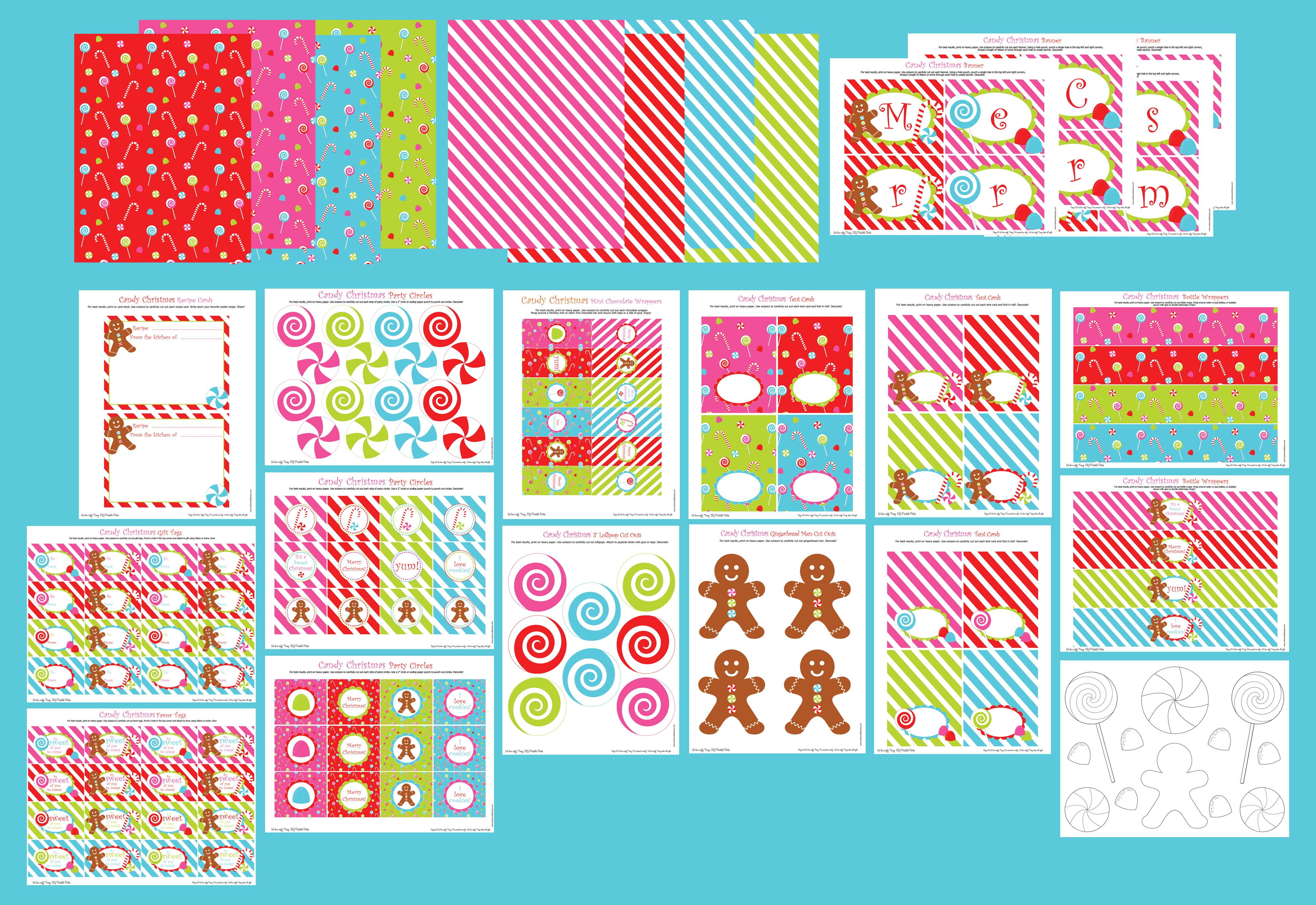 Free Mini Candy Bar Wrapper Template