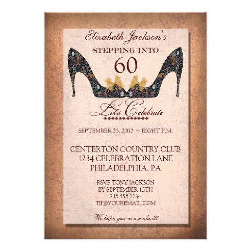 Free Online 50th Birthday Invitation Templates