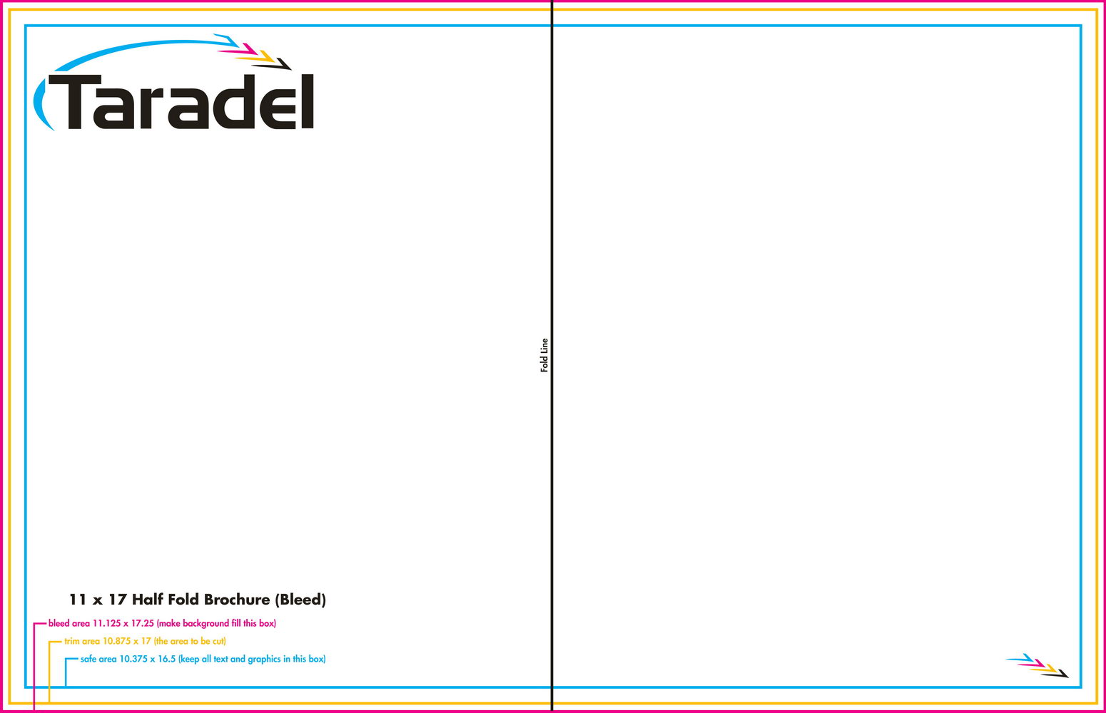 Half Fold Brochure Template Publisher