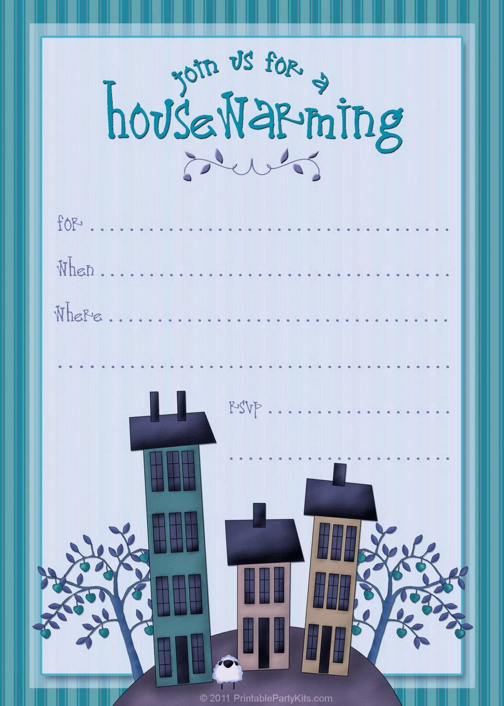 Housewarming Invitation Template