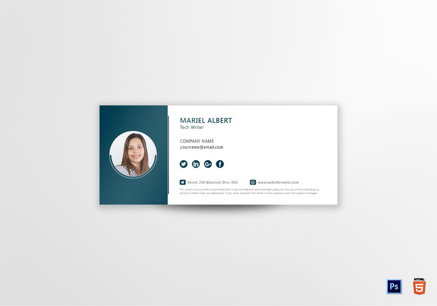 Html Email Signature Template Generator