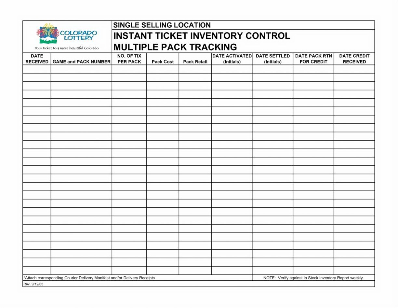 Jewelry Inventory Spreadsheet Template