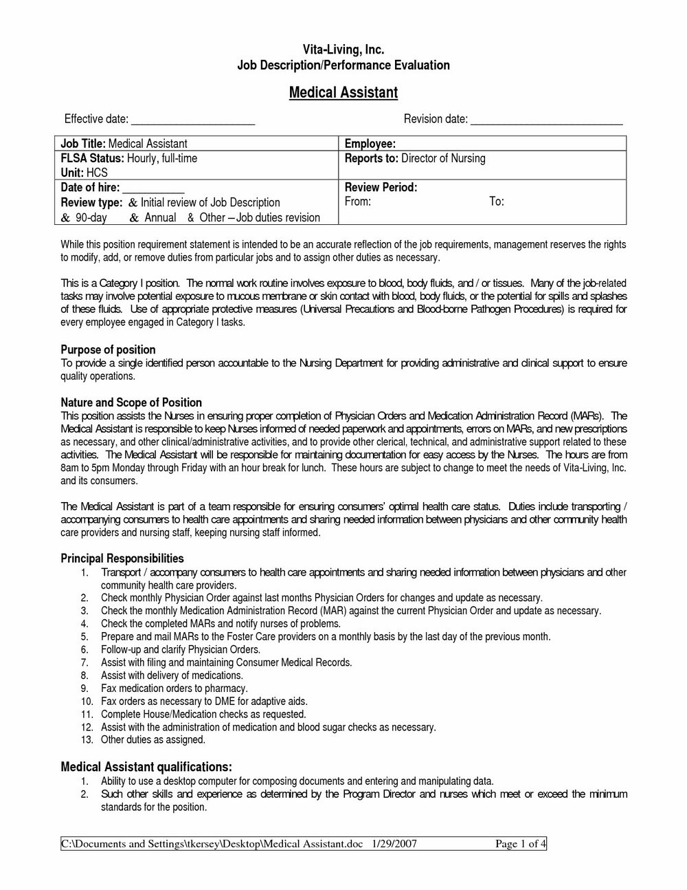 Free Medical Resume Templates Microsoft Word Resumes 1670