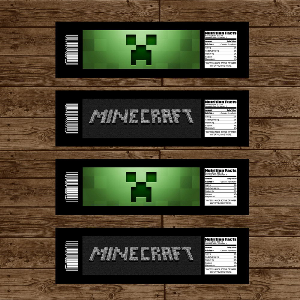 Minecraft Ticket Invitation Template