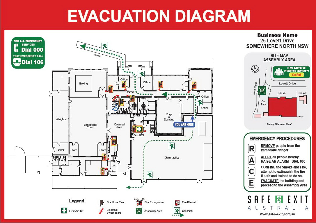 Personal Emergency Evacuation Plan Template Care Home