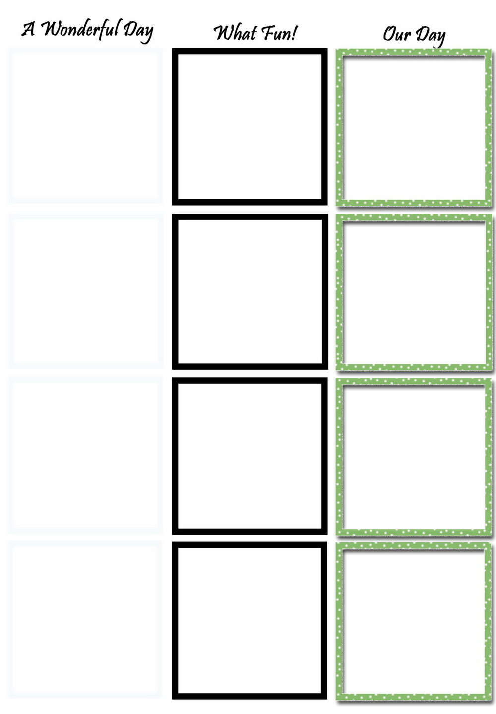 Photo Booth Strip Template App