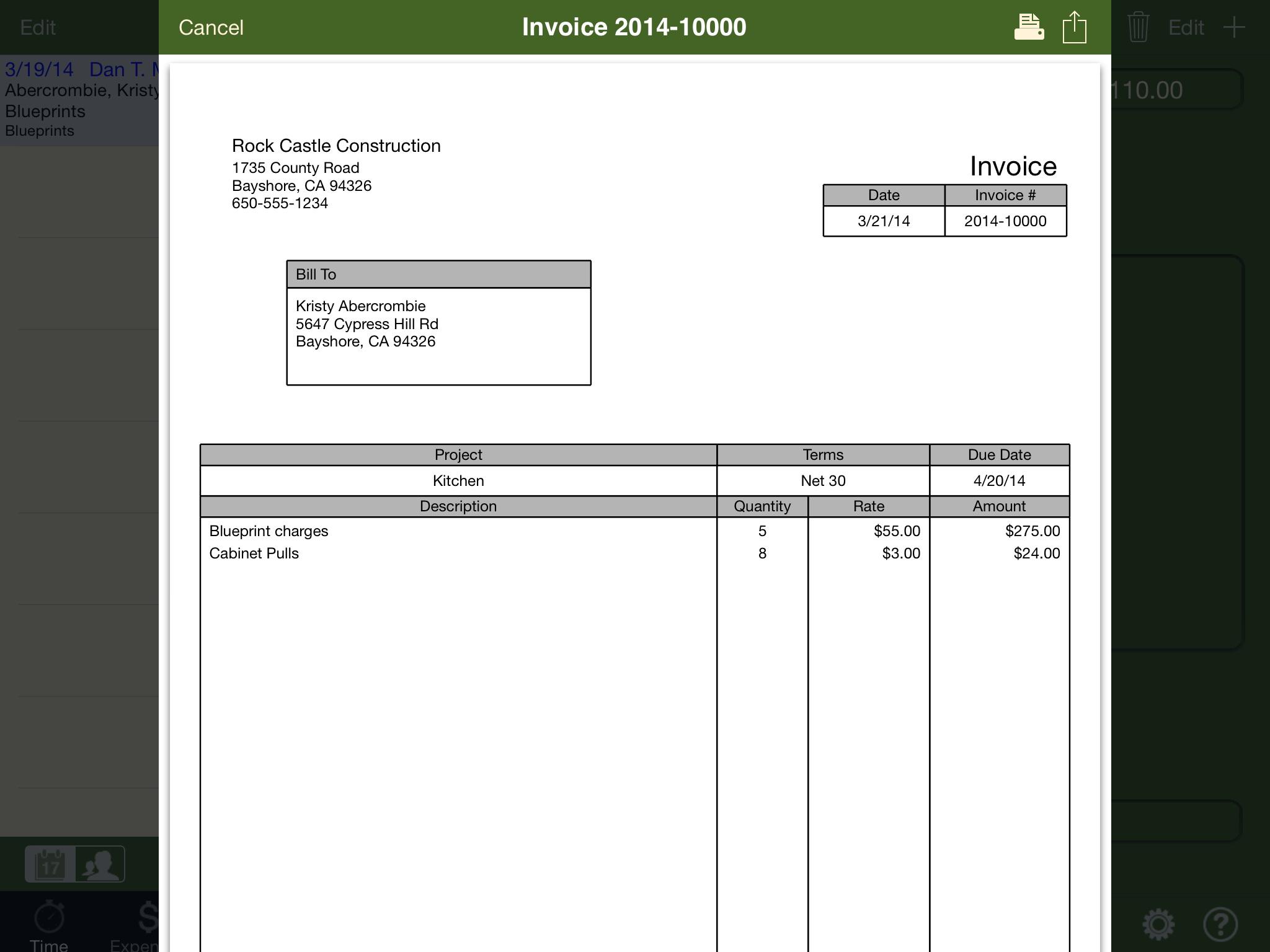 Quickbooks Invoice Templates Download