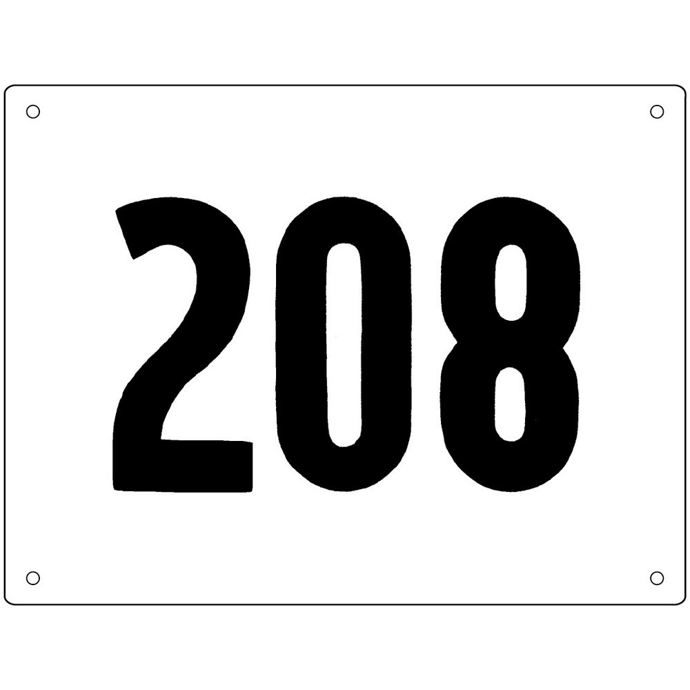 Race Bib Template