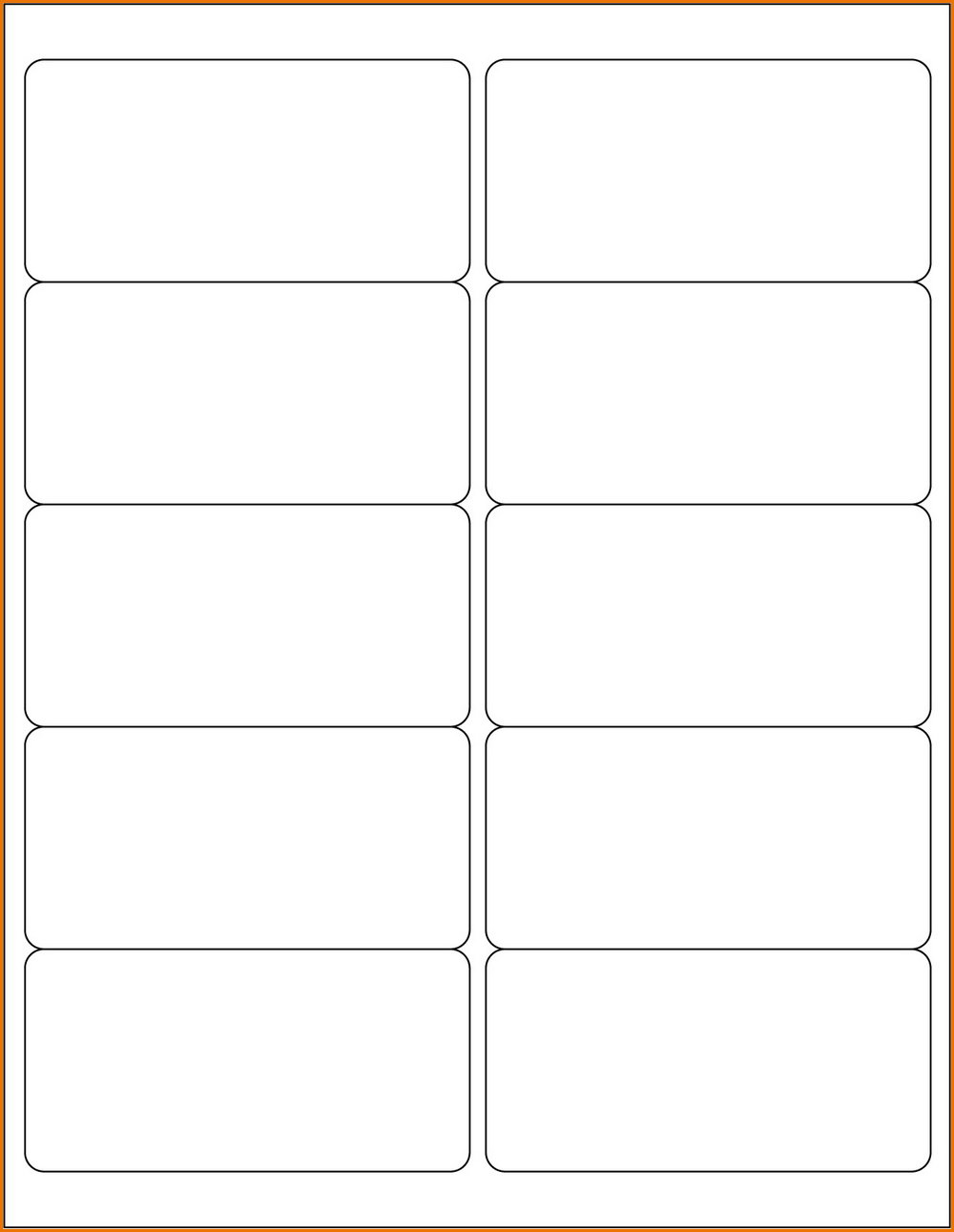 2x4 Label Template Google Docs