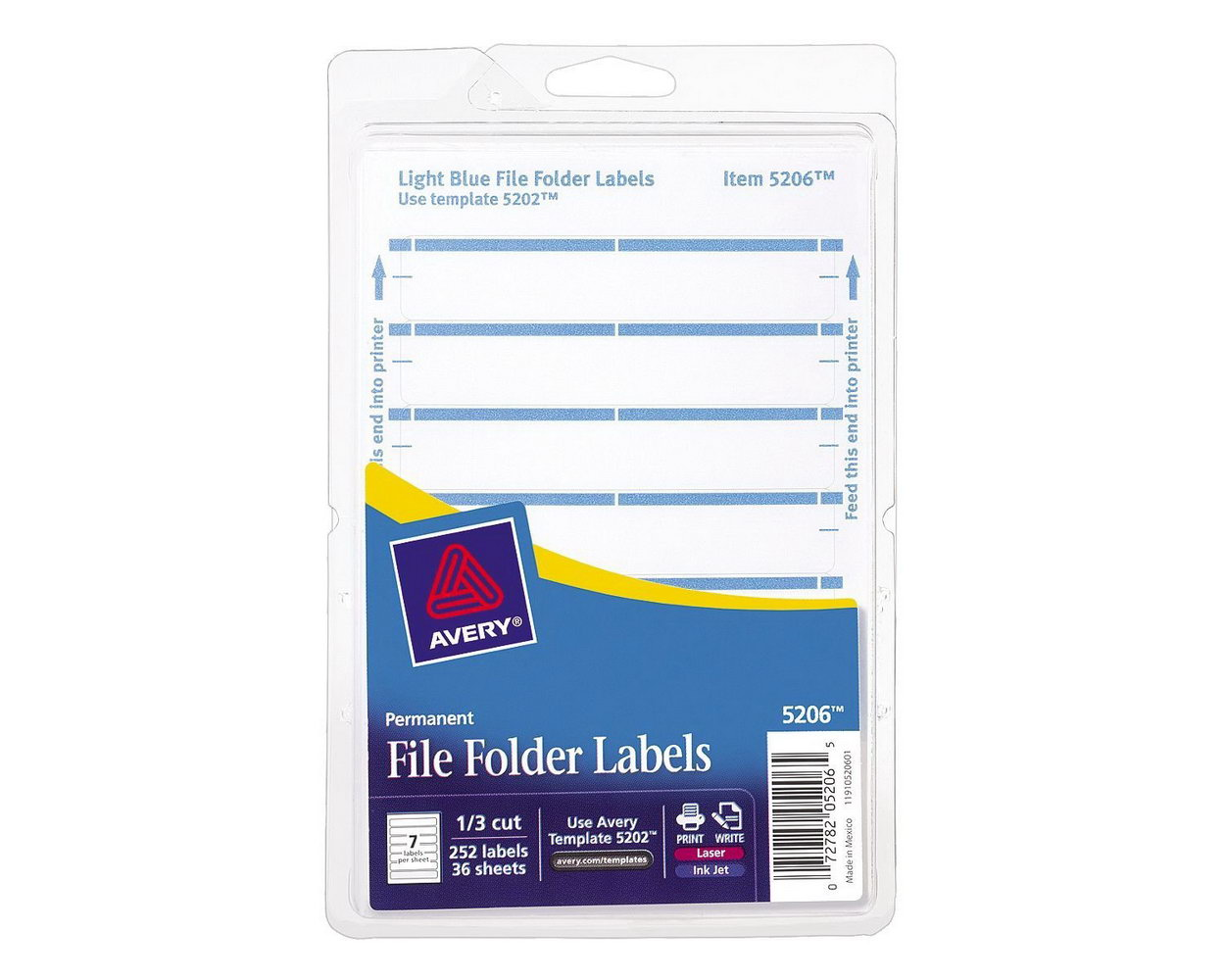 Avery File Folder Label Template 8593