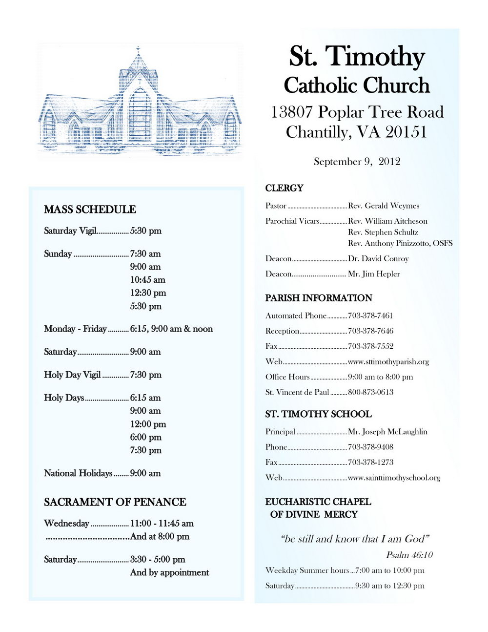 Catholic Mass Wedding Program Template Free