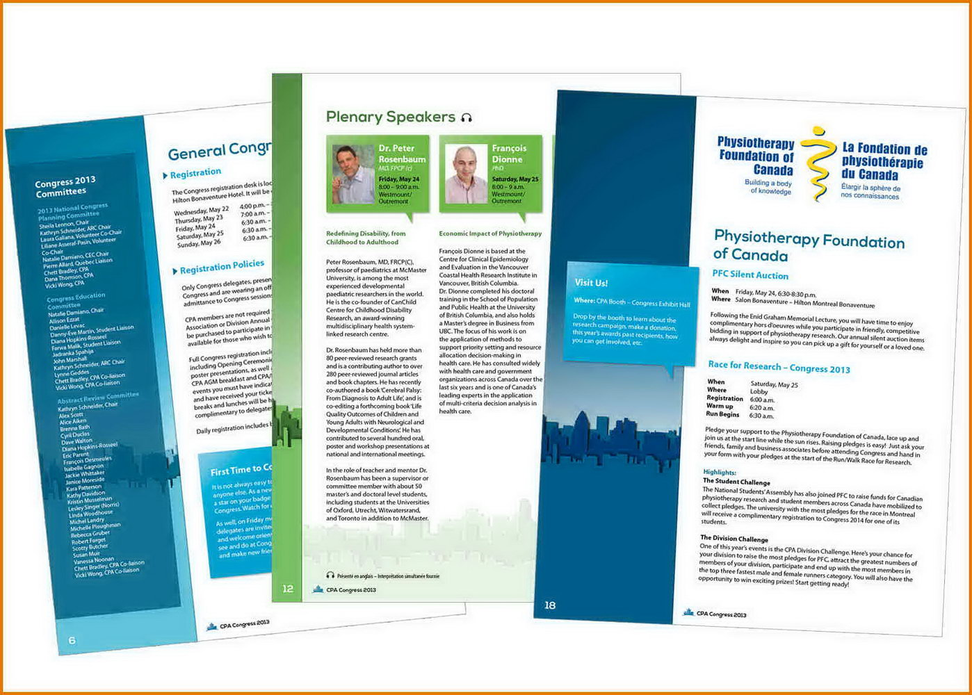 Conference Program Booklet Template