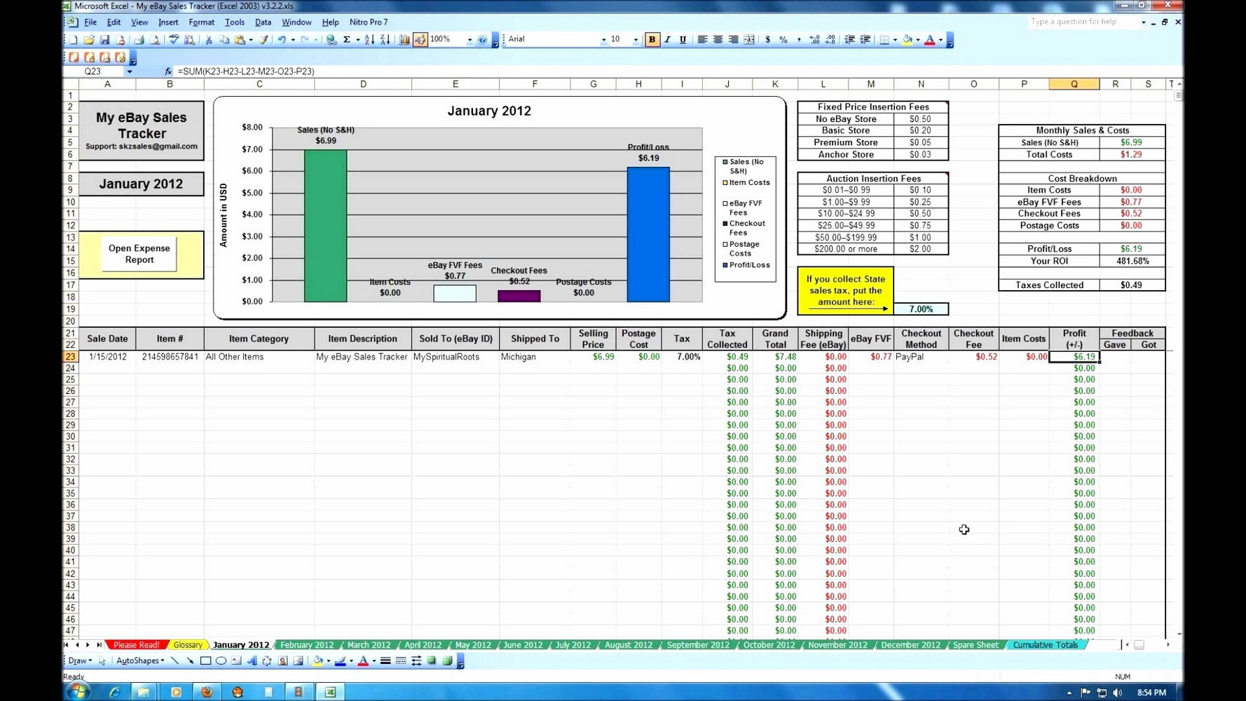 Crm Excel Template Xls