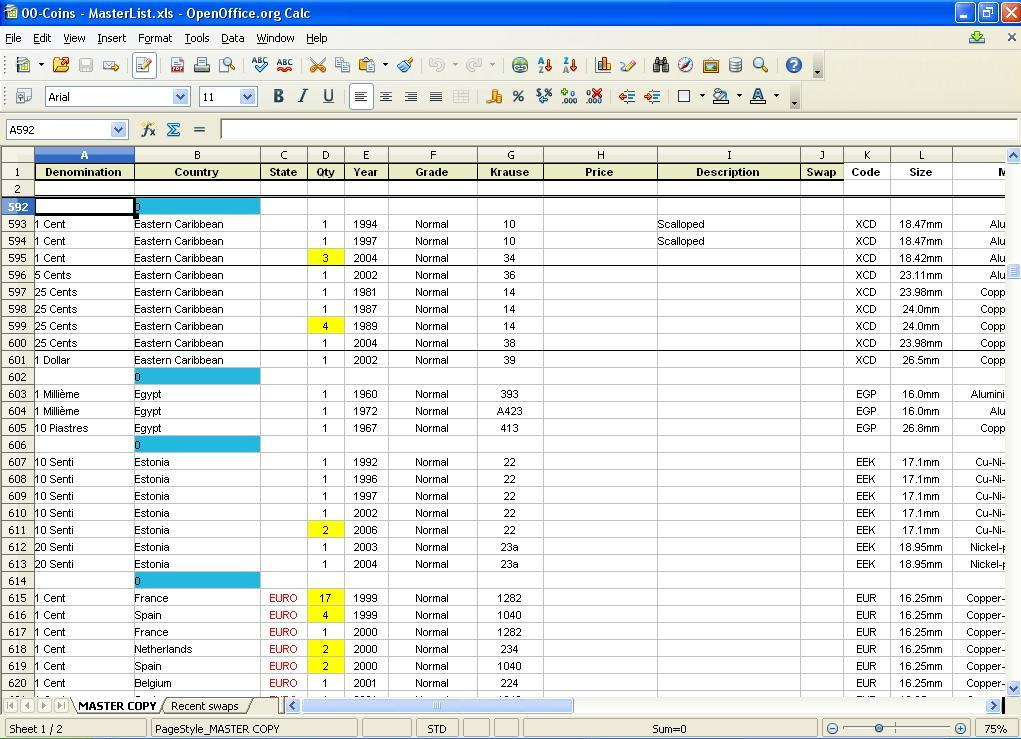 Excel Spreadsheet Templates For Inventory - Templates #61647