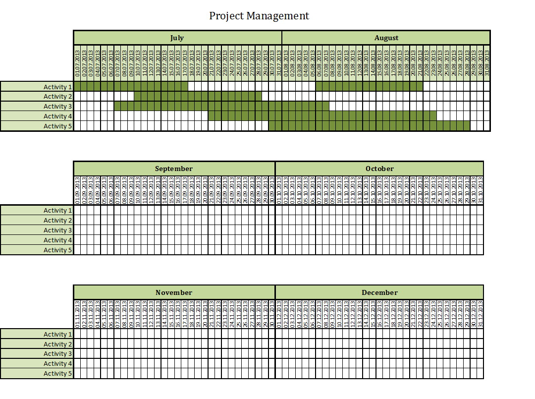 Excel Templates For Project Management Free Download
