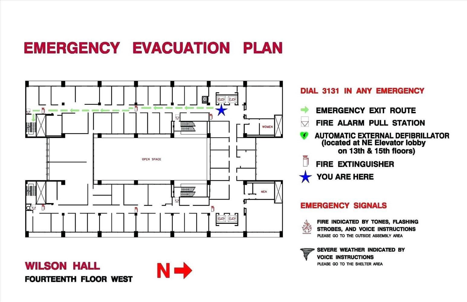 Fire Evacuation Plan Template Ireland
