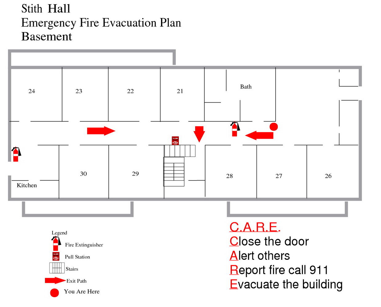 Fire Evacuation Plan Template Nsw
