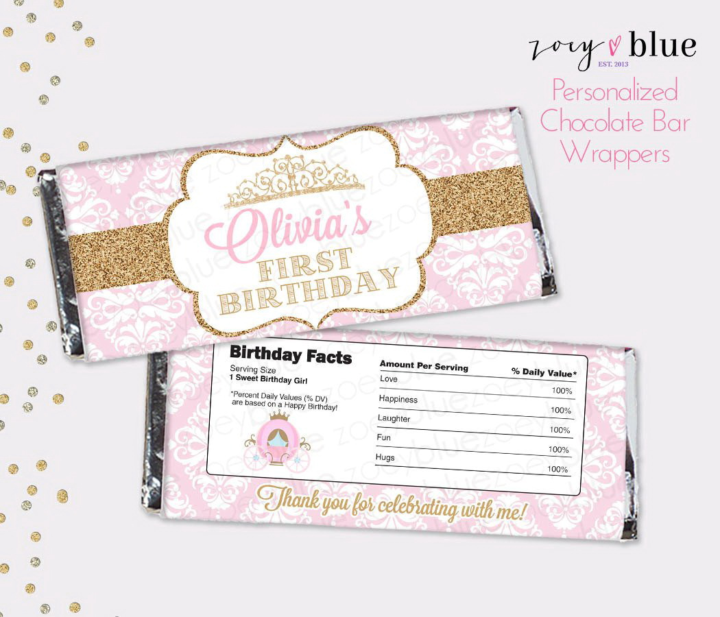 Free Hershey Candy Bar Wrapper Template
