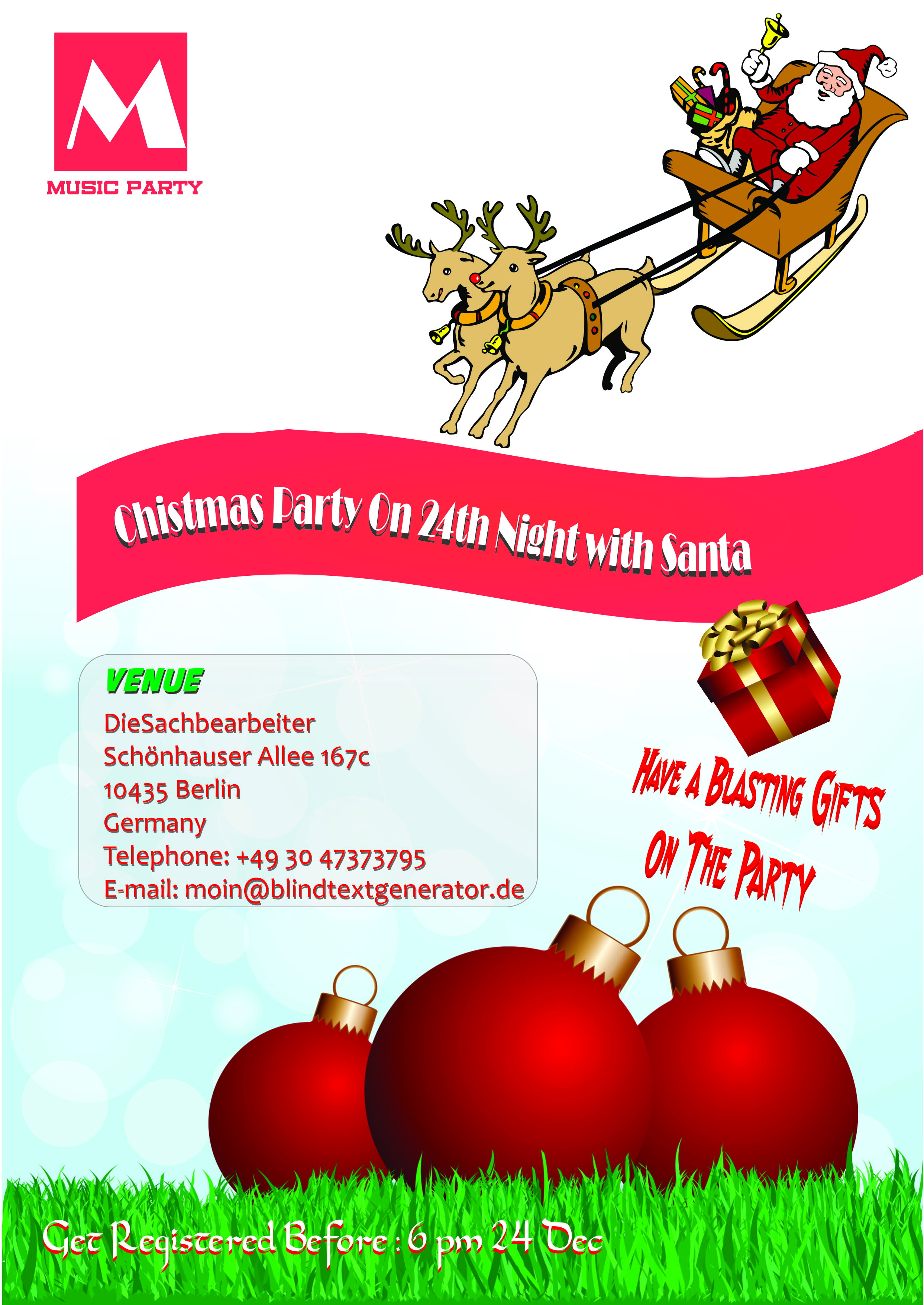 Free Holiday Flyer Templates