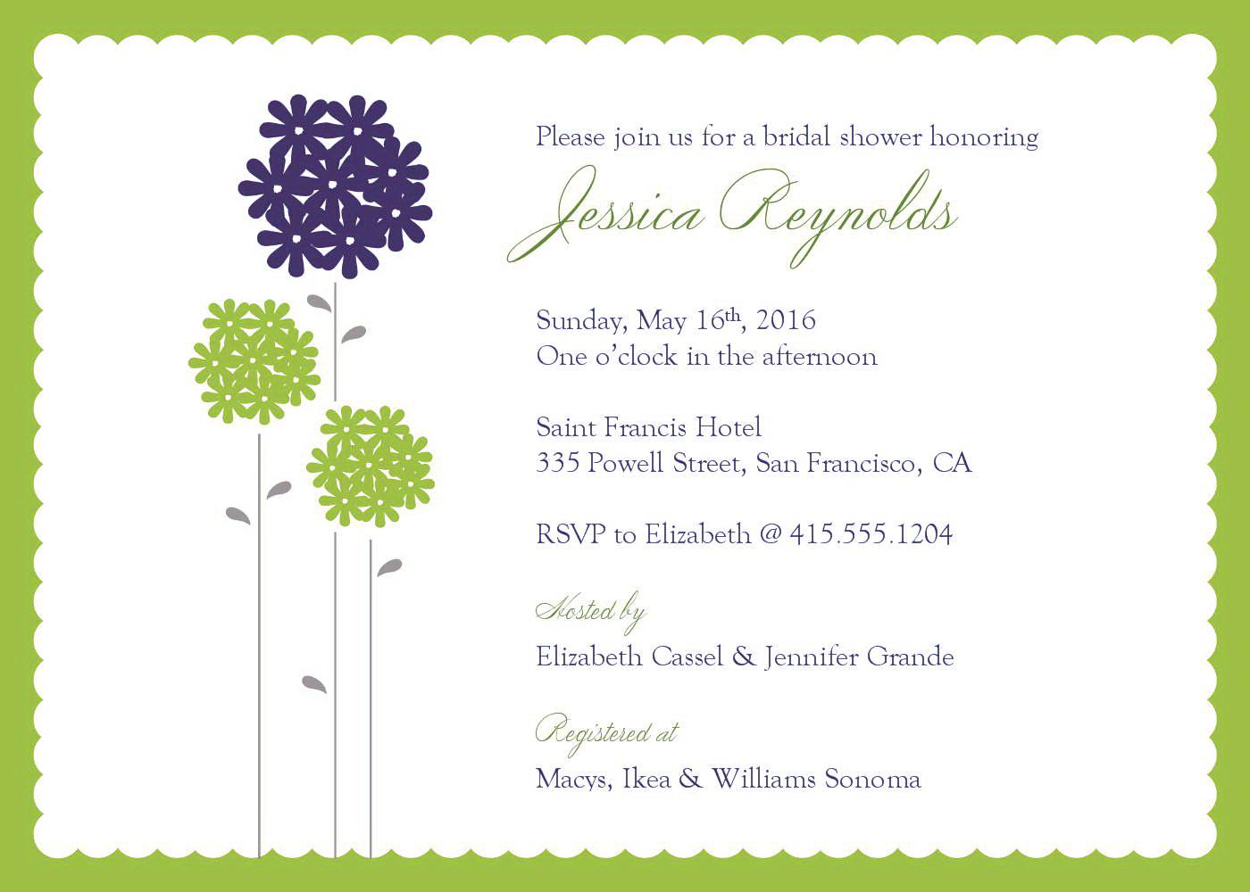 Invitations Templates Free