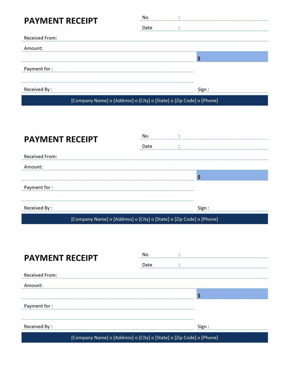 Invoice Template Deposit Paid