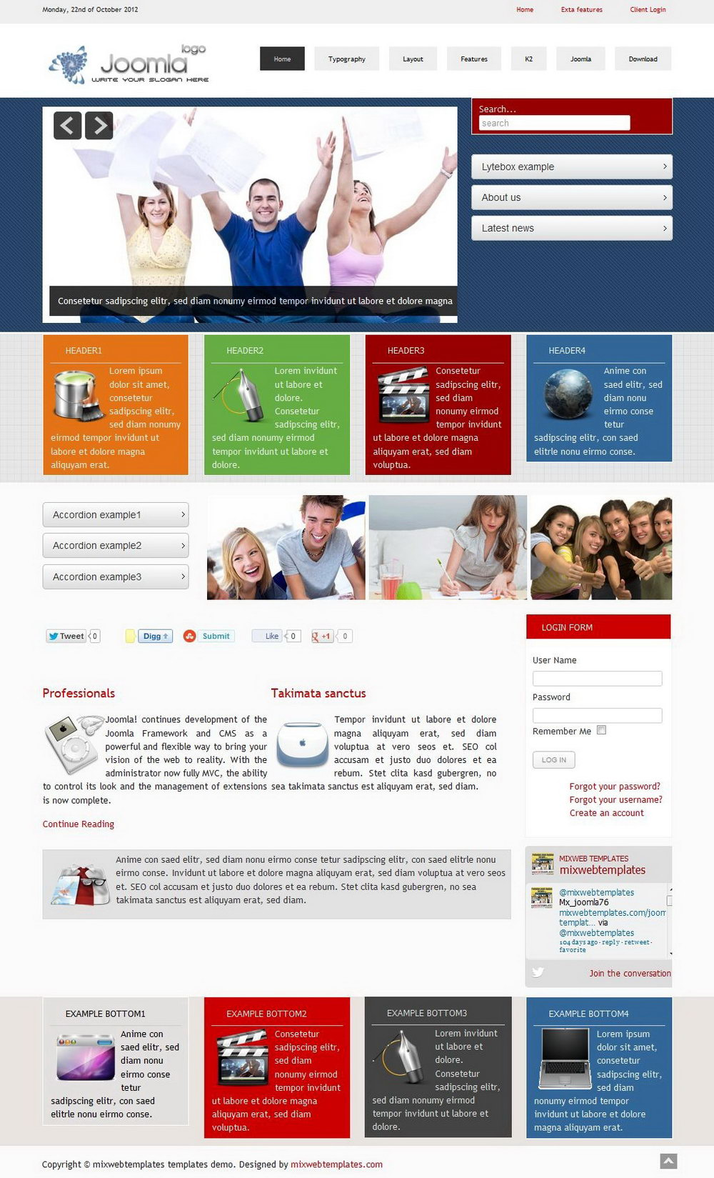 Joomla 30 Templates