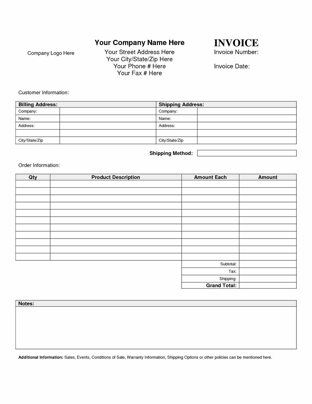 Mortgage Statement Template Excel
