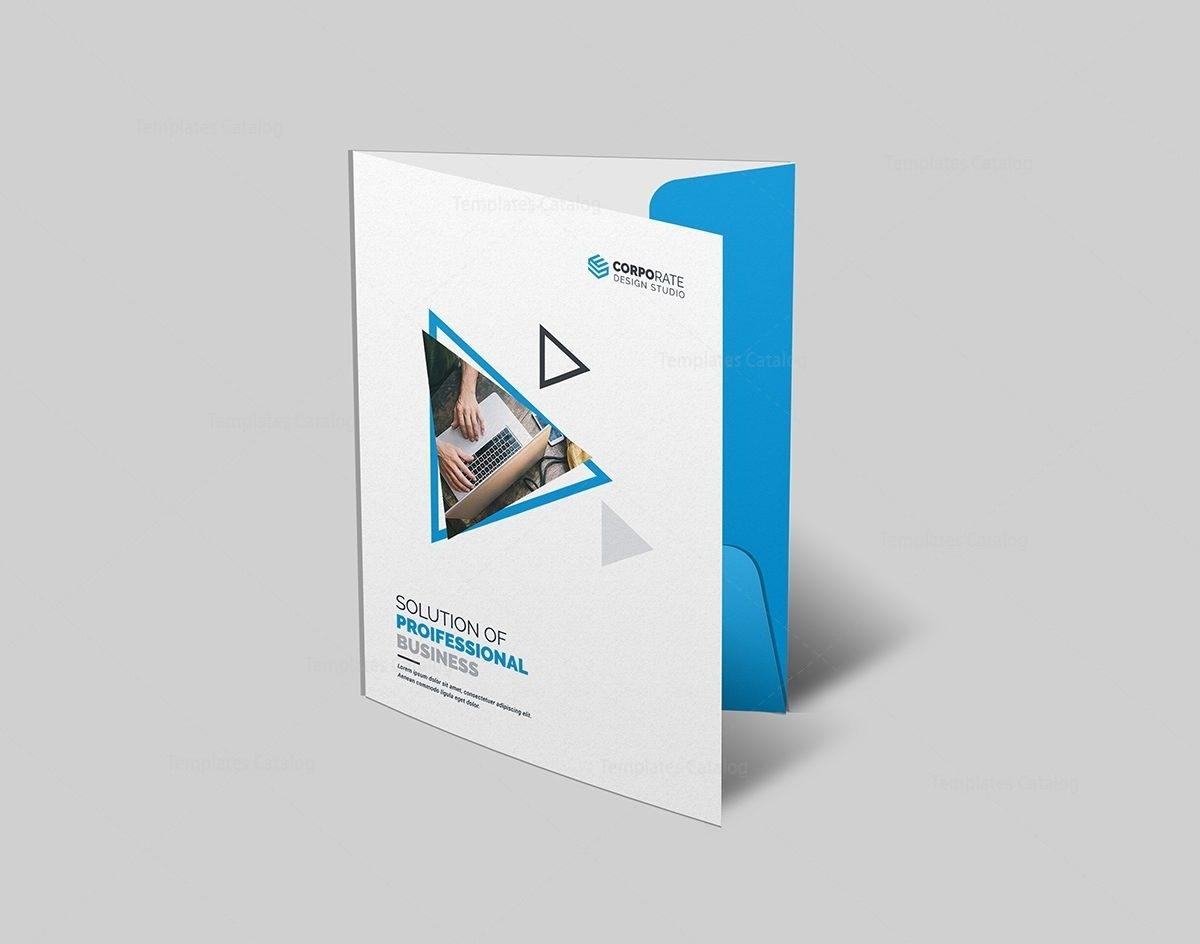 Presentation Folder Template Pdf