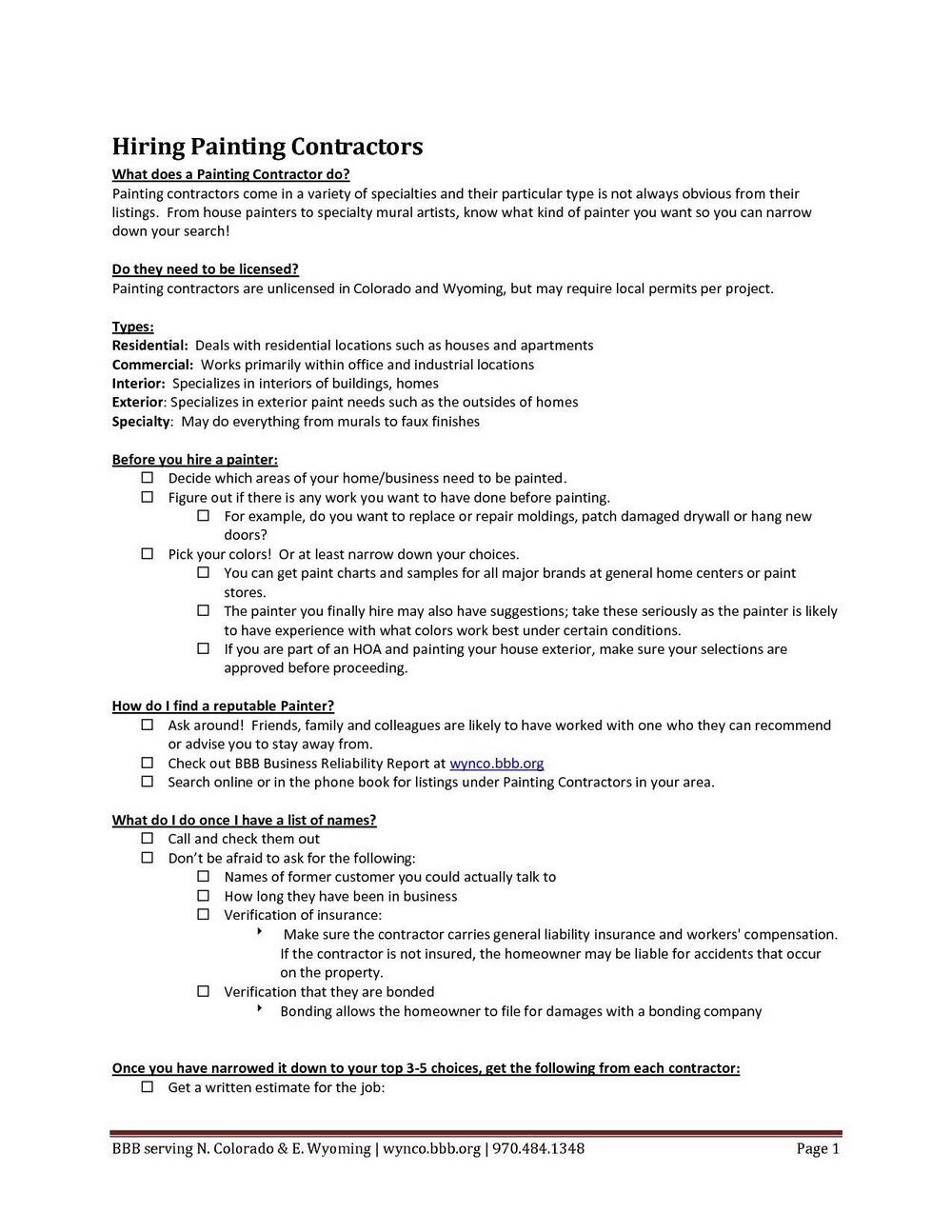 Professional Construction Quote Template