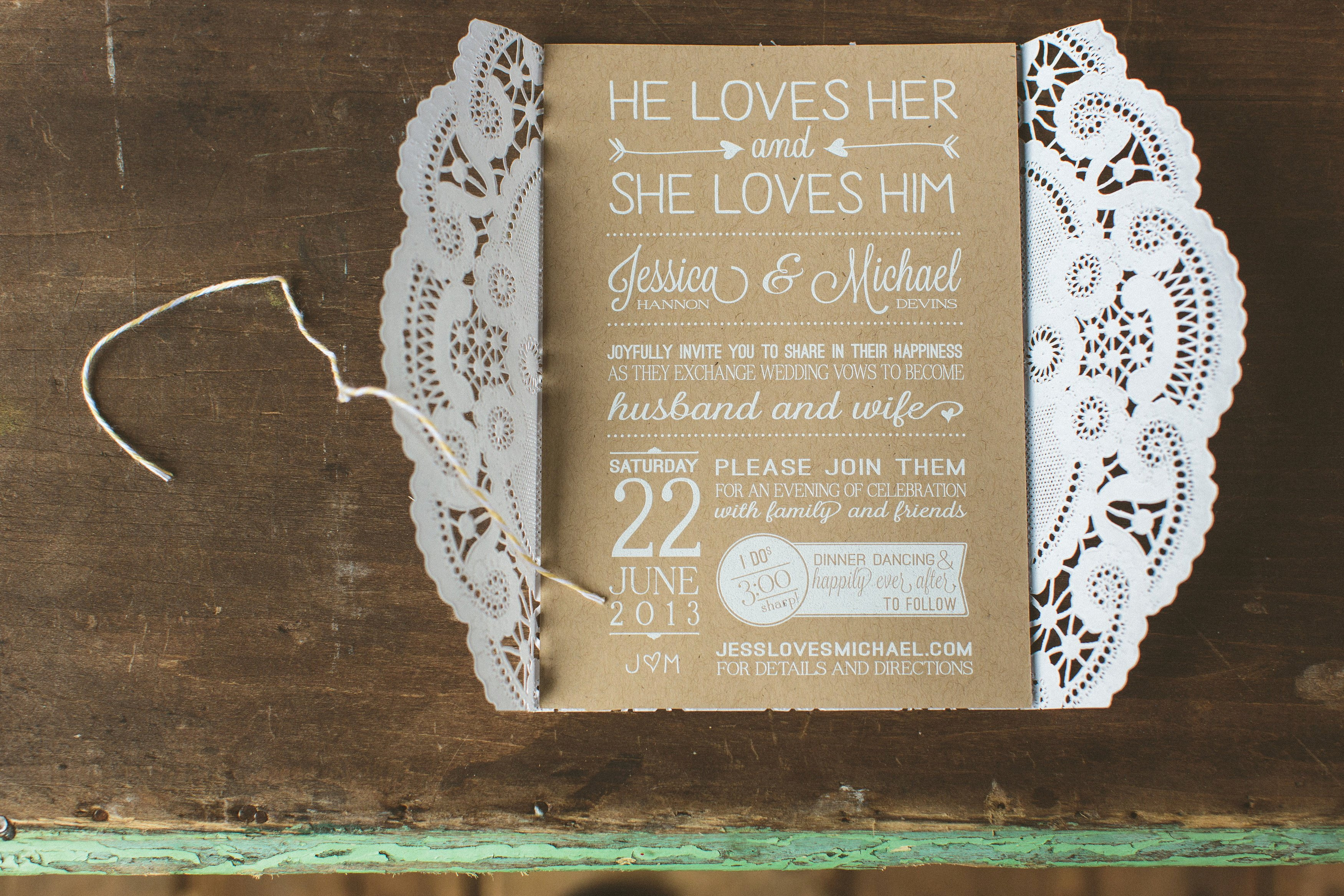 Rustic Wedding Invitations Templates Free