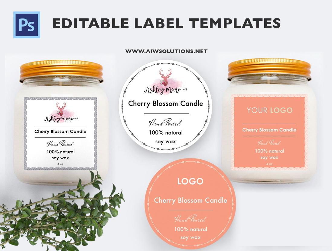 Soap Label Templates