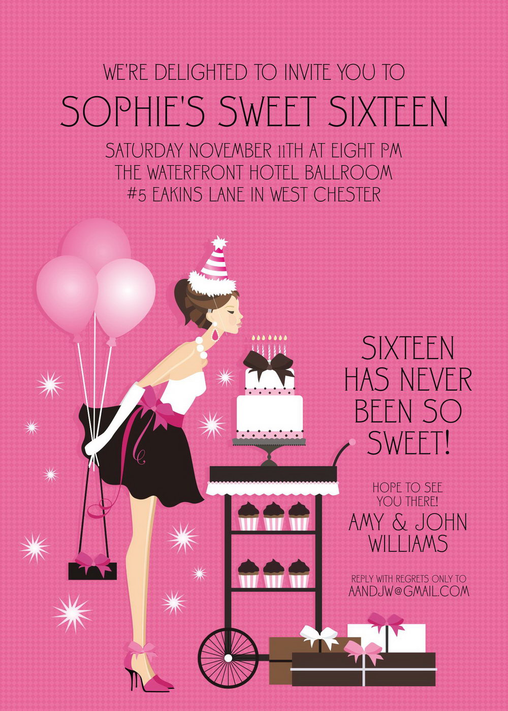 photograph relating to Free Printable Sweet 16 Invitations titled Cost-free Printable Lovable 16 Invitation Templates - Templates