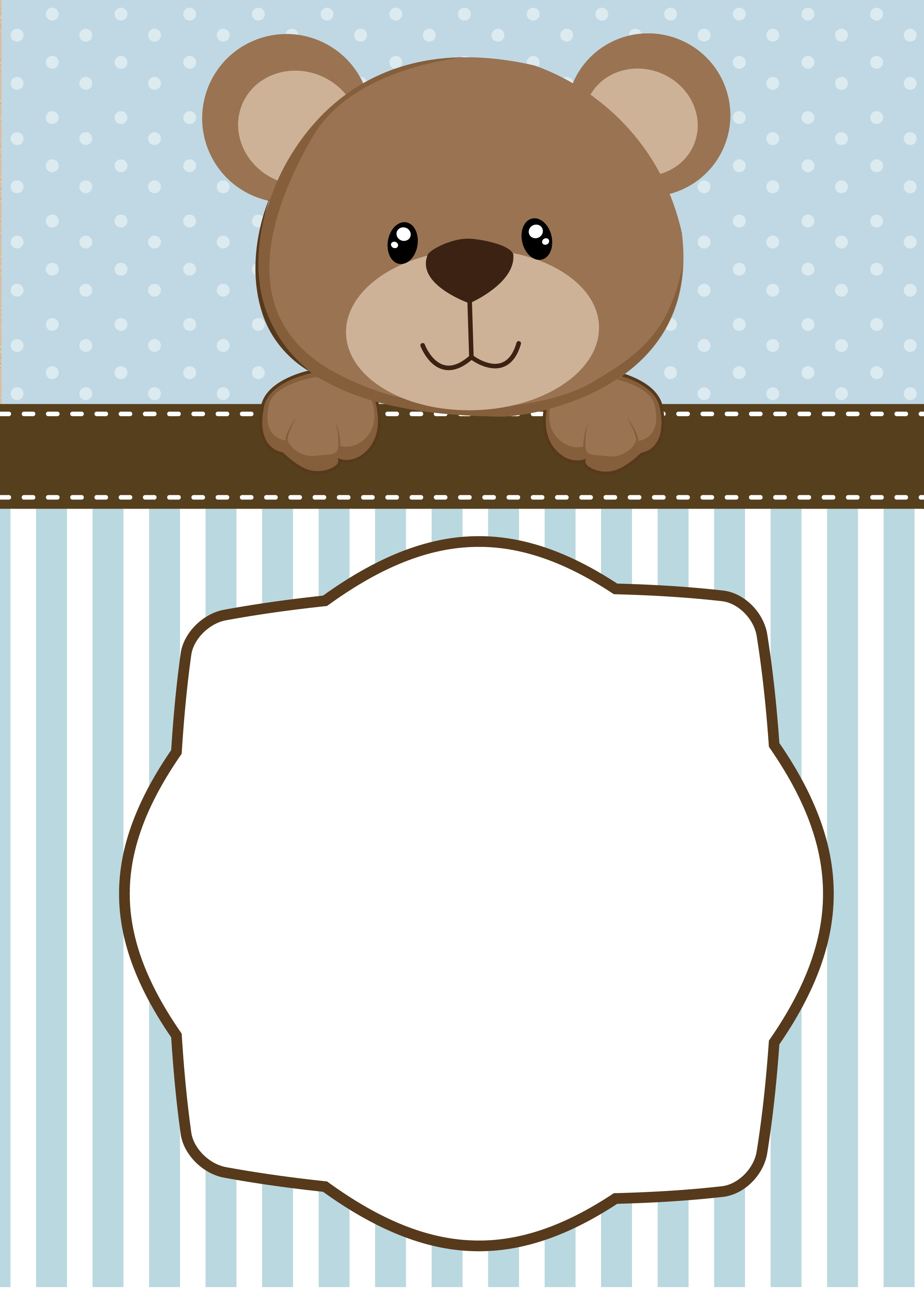 How To Teddy Bear Baby Shower Invitations Designs With Winsome L