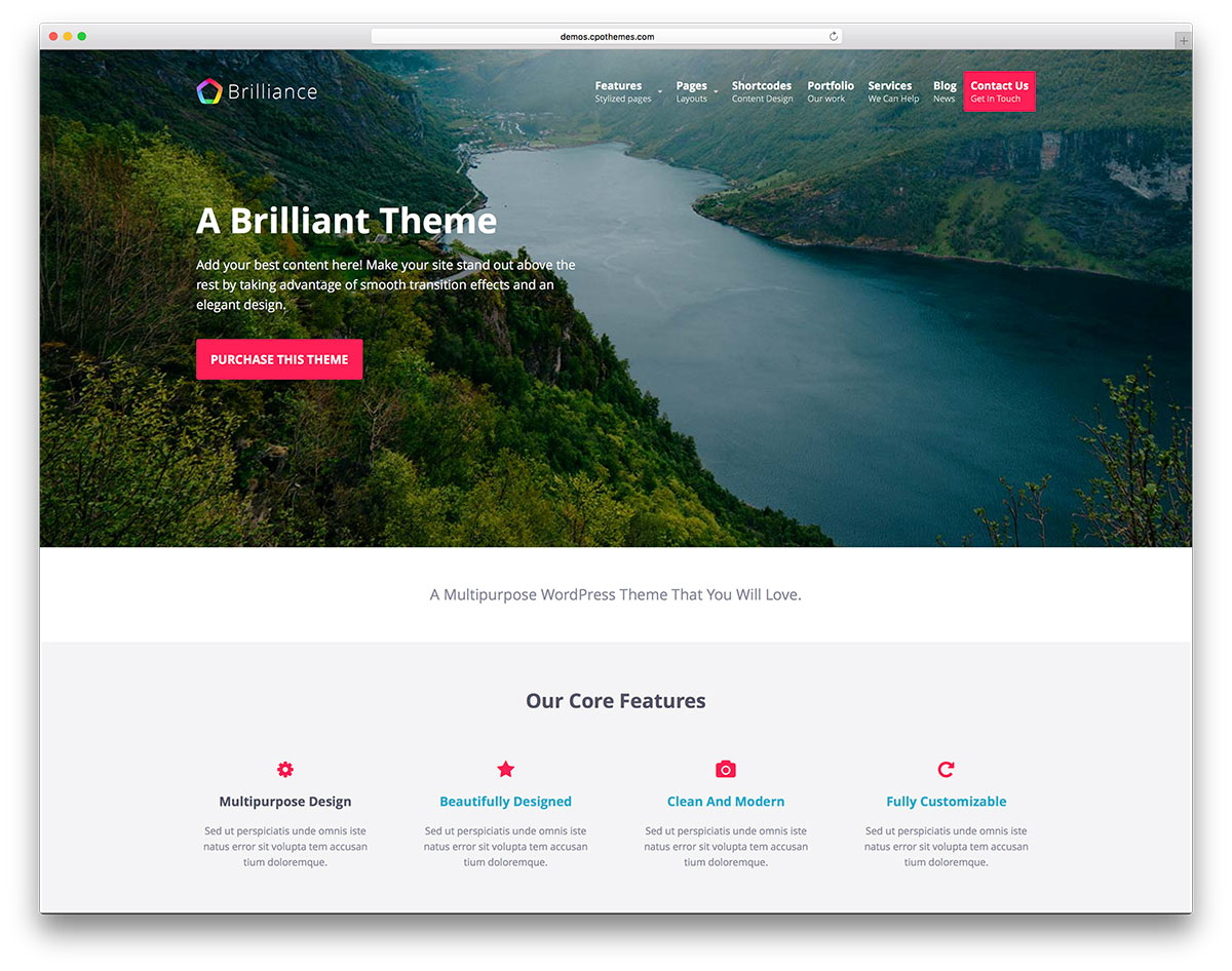 Wordpress Responsive Templates Free