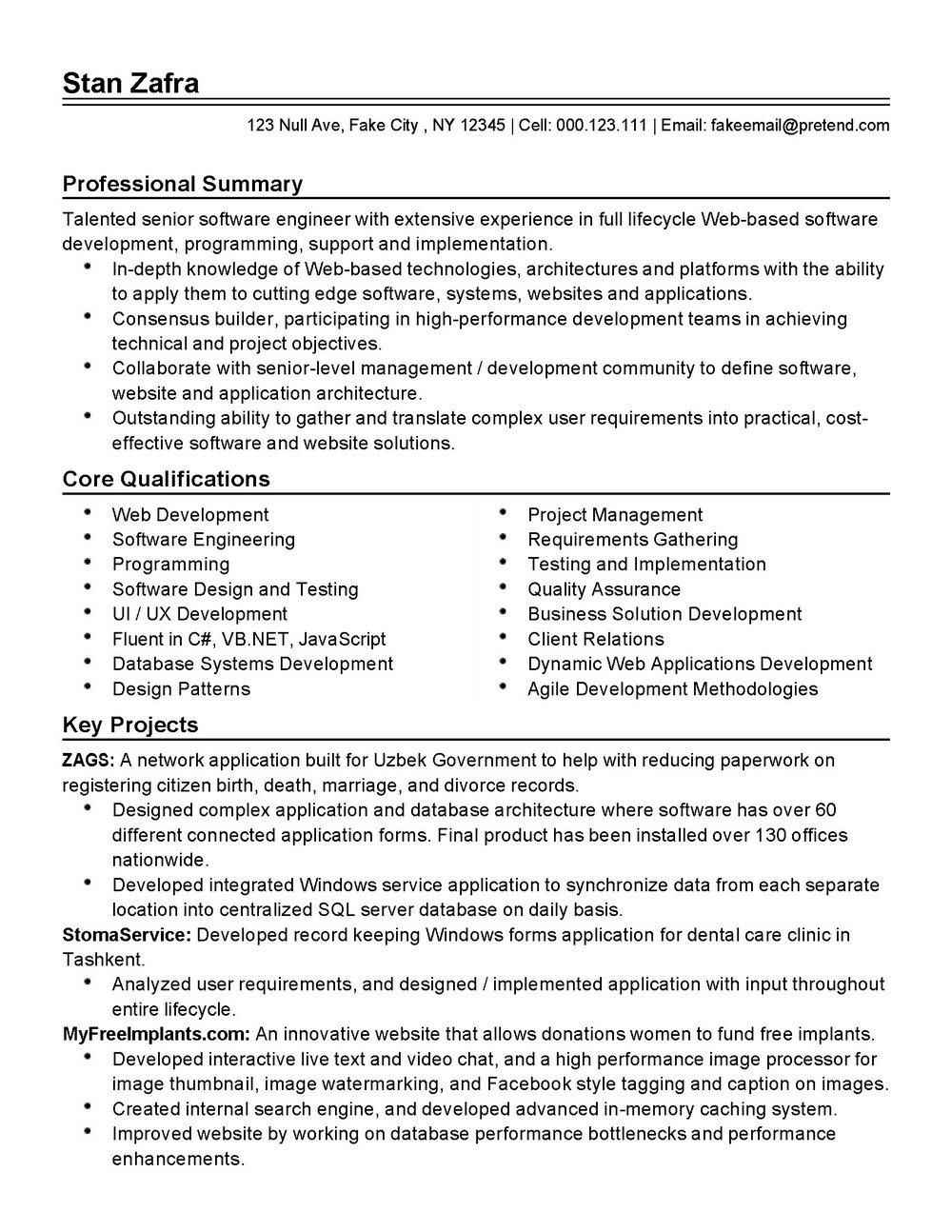 Agile Requirements Document Template