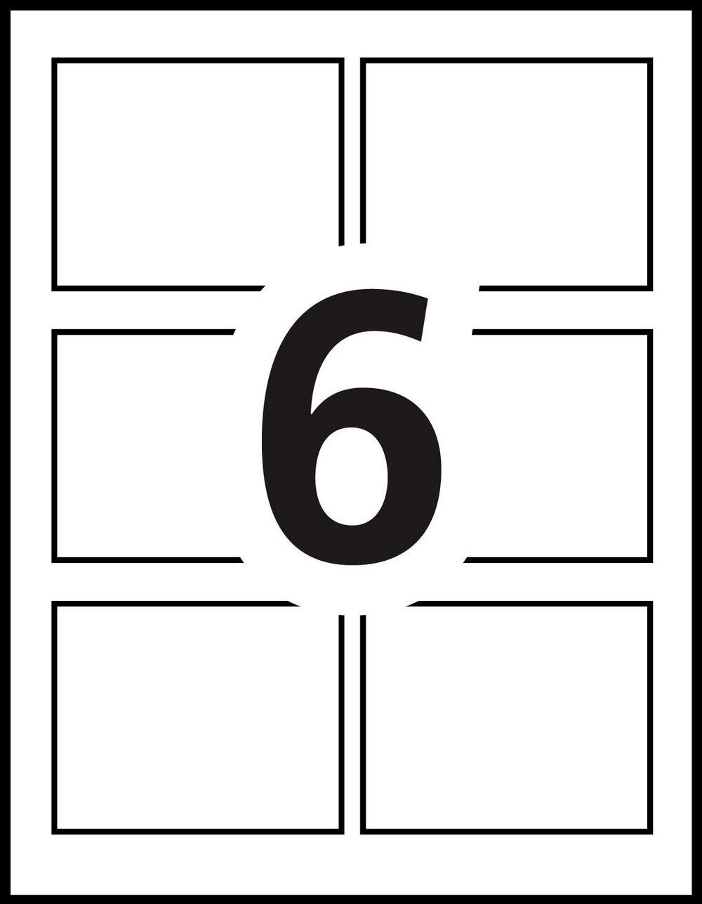 Avery Name Badge Template 5392