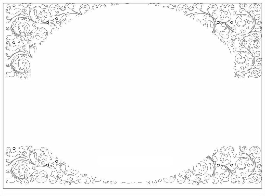 Blank Templates For Invitations