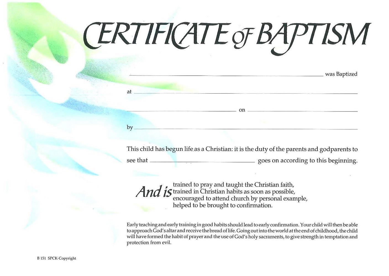 Christian Certificate Of Appreciation Template