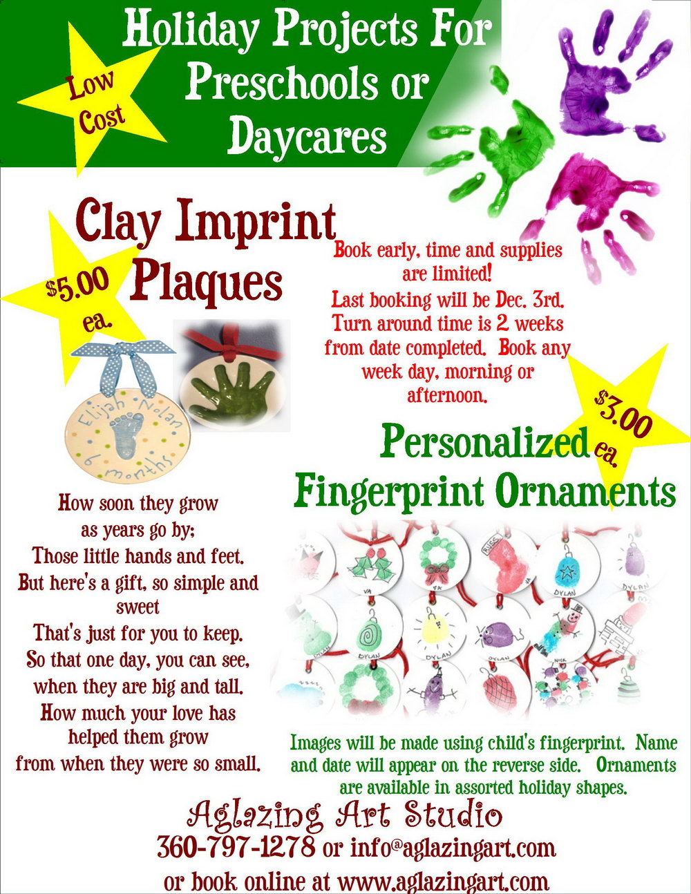 Daycare Flyers Templates Free