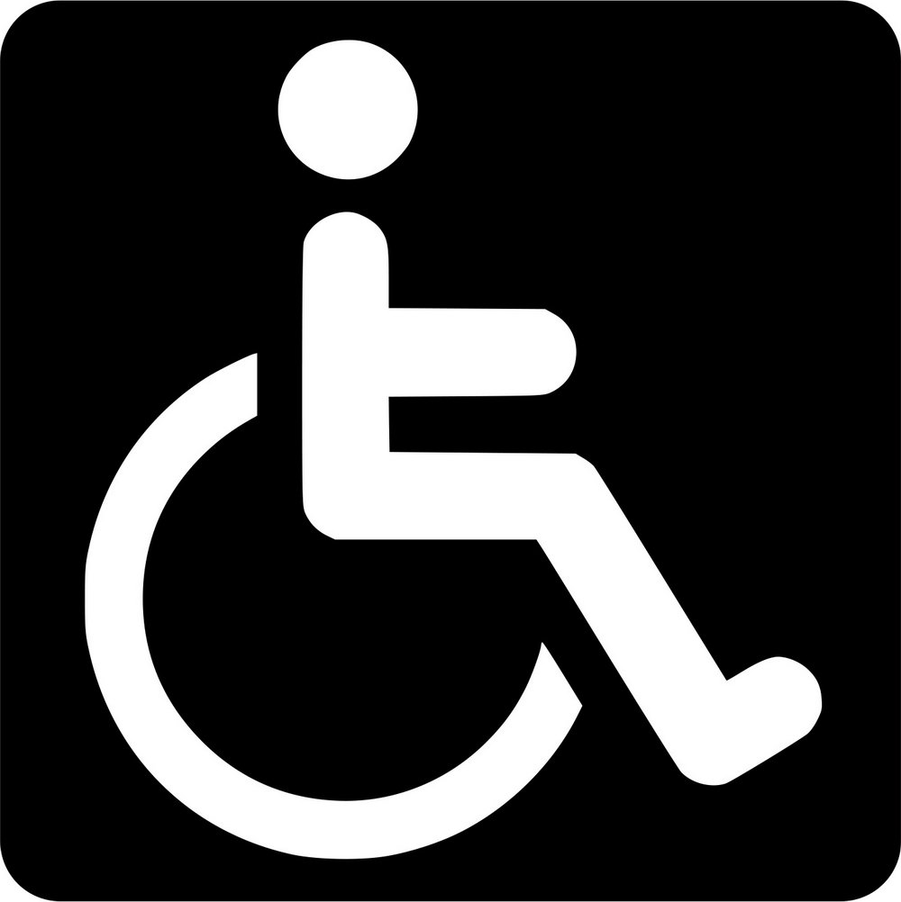 Handicap Parking Sign Template