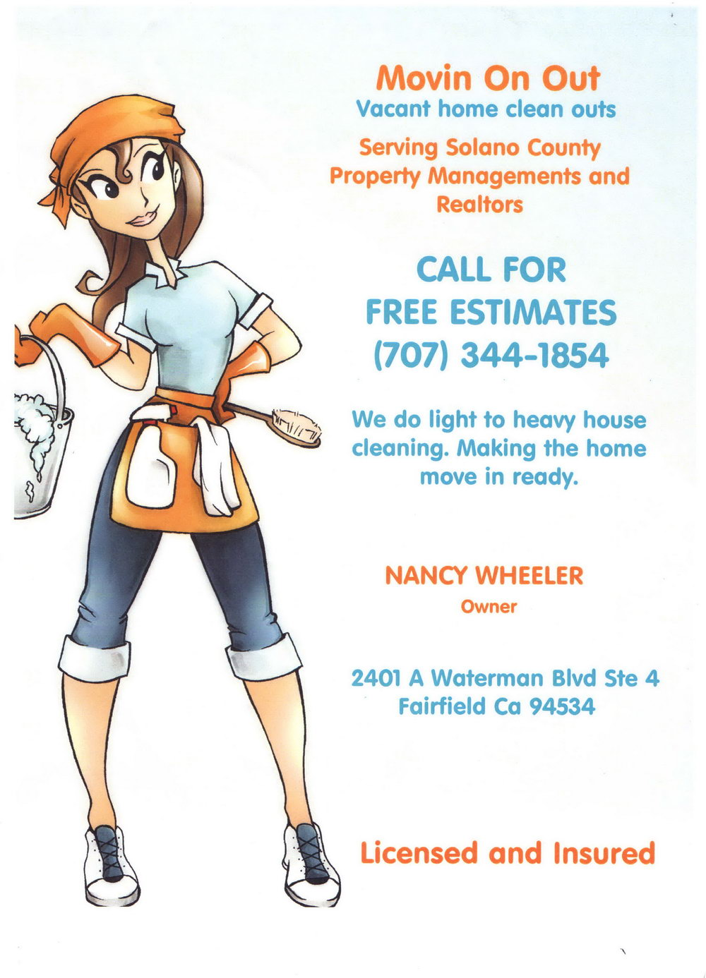 House Cleaning Flyers Templates Free