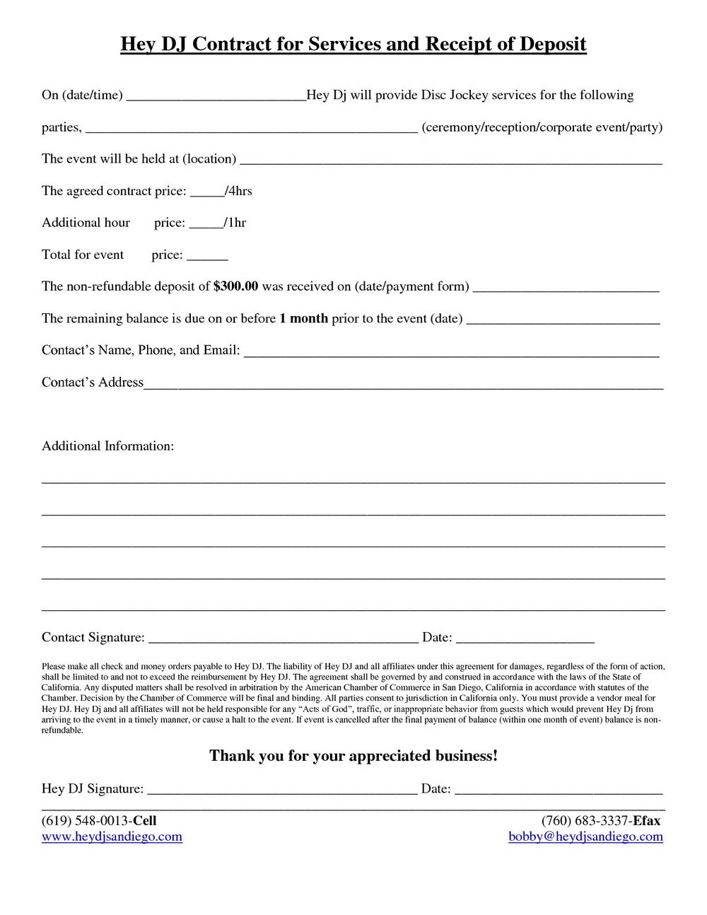 Iou Letter Template