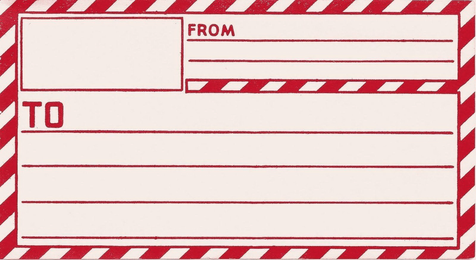 Mailing Label Templates Free